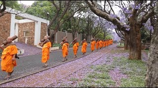 The First Buddhist Monks Ordination in South Africa